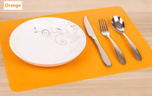 Food Grade Silicone Hot Sale Easy Clean Dinner Mat LFGB