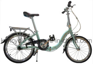 "Hot Selling with 20"" Shimano Gear Aluminum Alloy Light Folding Bike/Floding Bicycle/Bike pictures & photos"