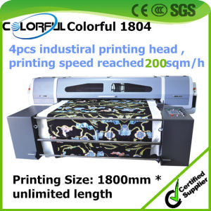 A0 Flatbed Printer Industrial Mass Production Large Format Belt Printer for Factory
