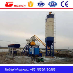 Hzs25 Lifting Hopper Stationary Concrete Batching Plant in China pictures & photos