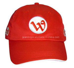 6 Panels Promotional Cotton Baseball Cap for Telecom pictures & photos