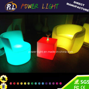 RGB Colorful PE Material LED Lighted Sofa pictures & photos