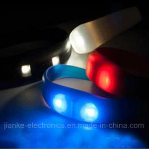 Party Glowing LED Bracelet Decoration with Logo Print (4010) pictures & photos