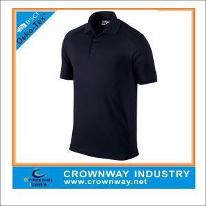 Wholesale Custom Pique Men Golf Polo Shirt pictures & photos