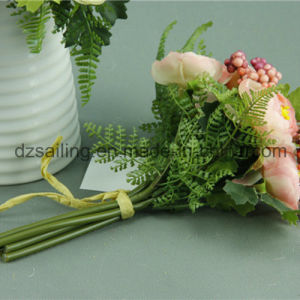 Decorative Ranunculus Bouquet Artificial Flower (SF11687B/6) pictures & photos