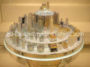 Round Acrylic Display Rack / Cake Shaped Display for Cosmetic Promotion pictures & photos