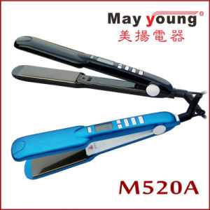 Ce Certificate and LCD Display Hair Flat Iron pictures & photos