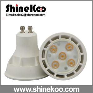 Aluminium Plastic GU10 Gu5.3 SMD 5W LED Spotlight pictures & photos