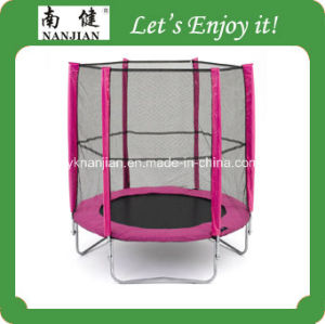 Fitness Used Trampolines for Sale with Safety pictures & photos