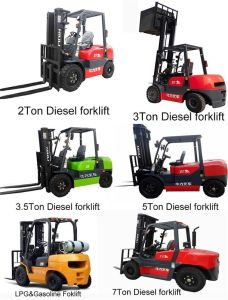 2t Diesel Forklift with CE Certificate pictures & photos