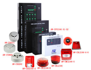 2 Wire 4 Zone Conventional Fire Alarm Detection Panel pictures & photos