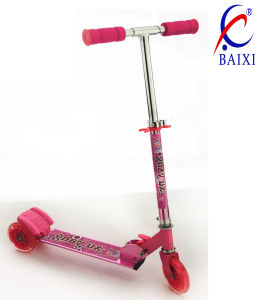 3 Wheel Scooters for Kds with Flash Light (BX-3M002) pictures & photos