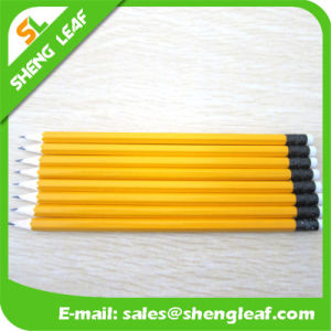 High Quality Yellow Promotional Gifts Pencil (SLF-WP039) pictures & photos