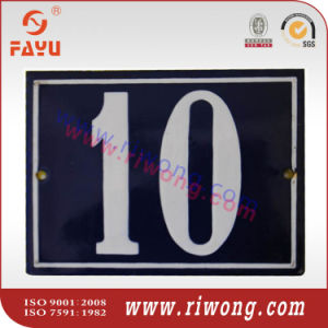 Ceramic Street Number Plate pictures & photos