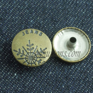 Custom Metal Press Fastener Buttons Snap pictures & photos