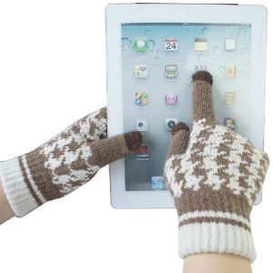 Lady Fashion Wool Knitted Touch Screen Winter Magic Gloves (YKY5454) pictures & photos