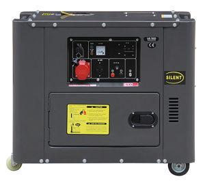5kw Silent Diesel Engine Power Generator (DG6500SE) pictures & photos