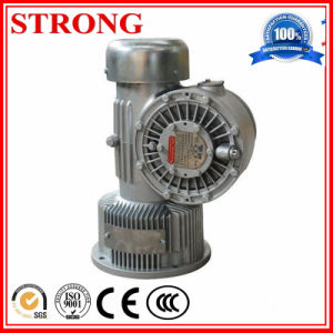 Construction Spare Parts Worm Gear Reducer Gearbox, Electric Motor Speed Reducer pictures & photos