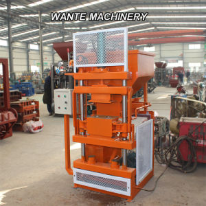 Wante Machinery Semi-Automatic Hydraulic Compressed Earth/ Clay Interlocking Brick Machine (WT1-10) pictures & photos