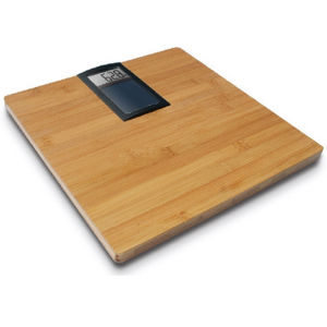 High Precision Bamboo Solar Electronic Scale (BS1037) pictures & photos