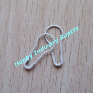 22mm White Pear Shaped Bulb Safety Pins (P160219D) pictures & photos