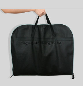 Foldable Zipper Transparent Window Zippered Garment Bag Suit Cover pictures & photos