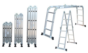 Aluminium Multi-Purpose Ladder by Ce/En131 Approved pictures & photos