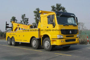 Top Quality HOWO Road Rescue Tow Truck with Tow Crane