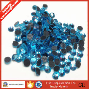 2016 Tailian Best Selling Good Price Delicate Appearance Acrylic Round Hotfix Rhinestones Flatback pictures & photos