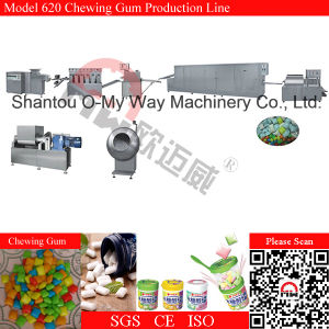 Double Color Chewing Gum Line Extruder Bubble Gum Machine pictures & photos