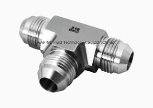 Stainless Steel Jic 37 Degree Tee Flare Tube Fittings pictures & photos