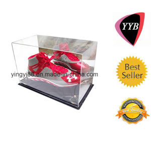 Clear Acrylic Basketball Display Box with Mirror (YYB-848) pictures & photos