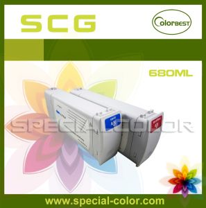680ml Compatible for HP 5500/5000 Printer Ink Cartridge (HP-83-CP) pictures & photos