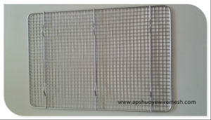 Chrome Steel Mesh Cooling Rack for Cookies pictures & photos