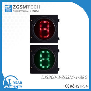 Counterdown Timer 1 Digital Red Green 2 Colors Dia. 300mm