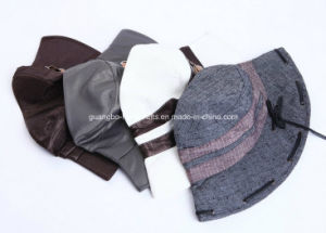 High Quality Lady Plain Custom Bucket Hat pictures & photos