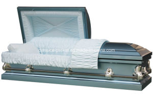 Galaxy Blue 20ga Steel Casket pictures & photos