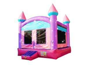 Sparkling Princess Moonwalk Inflatable Jumping Castle Chb581L pictures & photos