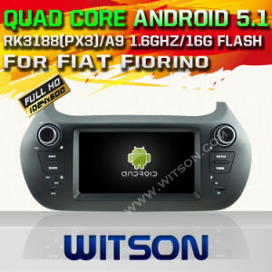 Witson Android 5.1 Car DVD GPS for FIAT Fiorino with Chipset 1080P 16g ROM WiFi 3G Internet DVR Support (A5538) pictures & photos