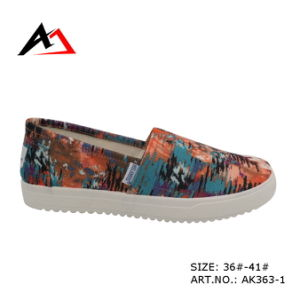 Injection Molding Shoes Printing Casual Shoes for Women (AK363) pictures & photos