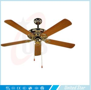 United Star 2015 52′′ Electric Decorative Ceiling Fan Dcf-180 pictures & photos