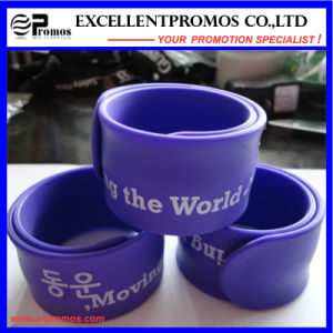 Hot Sale Silicone Slap Band with Custom Logo (EP-W58404) pictures & photos