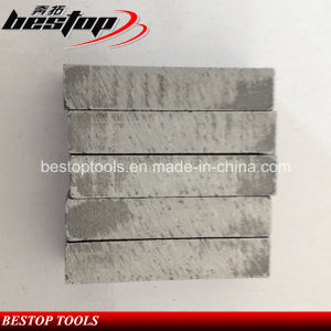 Limestone Diamond Cutting Segment for Yemen Market pictures & photos
