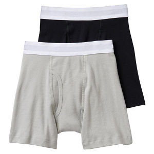 High Quality Plain Soft Cotton Kids Boy Underwear pictures & photos