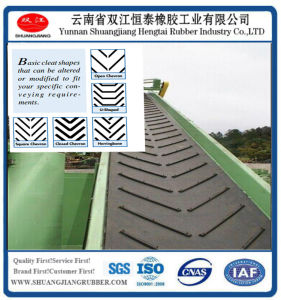 Cleated Belts, Rubber Conveyor Belt pictures & photos
