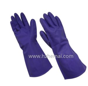 Nitrile Dipped Chemical Safety Gloves Latex Free Household Gloves Work Glove pictures & photos