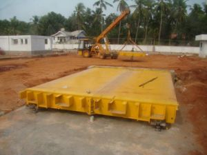 Truck Scale Platform3X16m 60ton Exported to India pictures & photos
