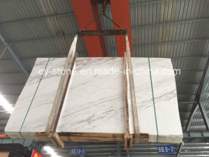 Volakas White Marble for Floor/Wall/Countertop/Mosaic Tiles pictures & photos