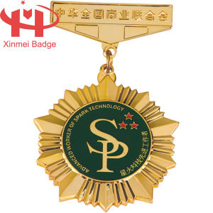 Hard Enamel Awarding to Professional Worker