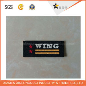 Customized Garment Tag Clothing Sticker Printed Fabric Scrapbook Printing Label pictures & photos